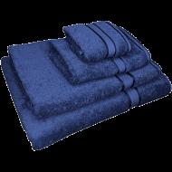 4 Piece Kingtex Towel Set Navy