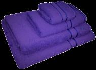 4 Piece Kingtex Towel Set Purple