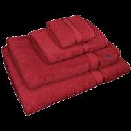 4 Piece Kingtex Towel Set Red