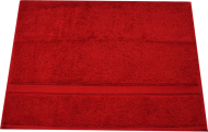 Kingtex Hand Towel Red