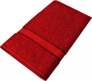 Kingtex Bath Sheet Red