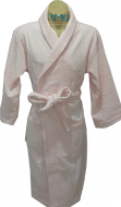 Softouch Terry Toweling Robe Soft Pink