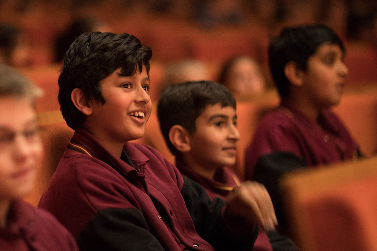 MSO Learning Student at a Concert 1200x800