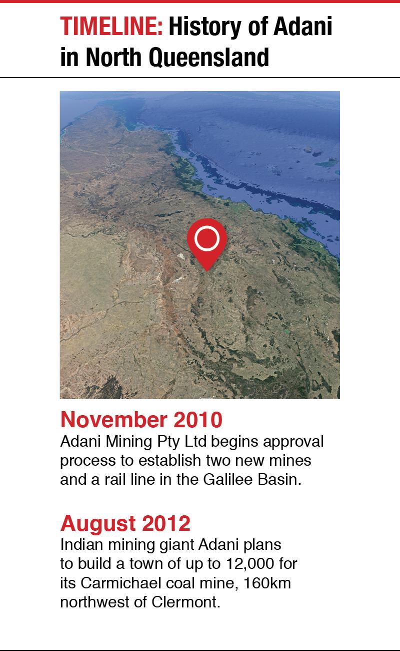 Adani mine: QLD government has three weeks to finish
