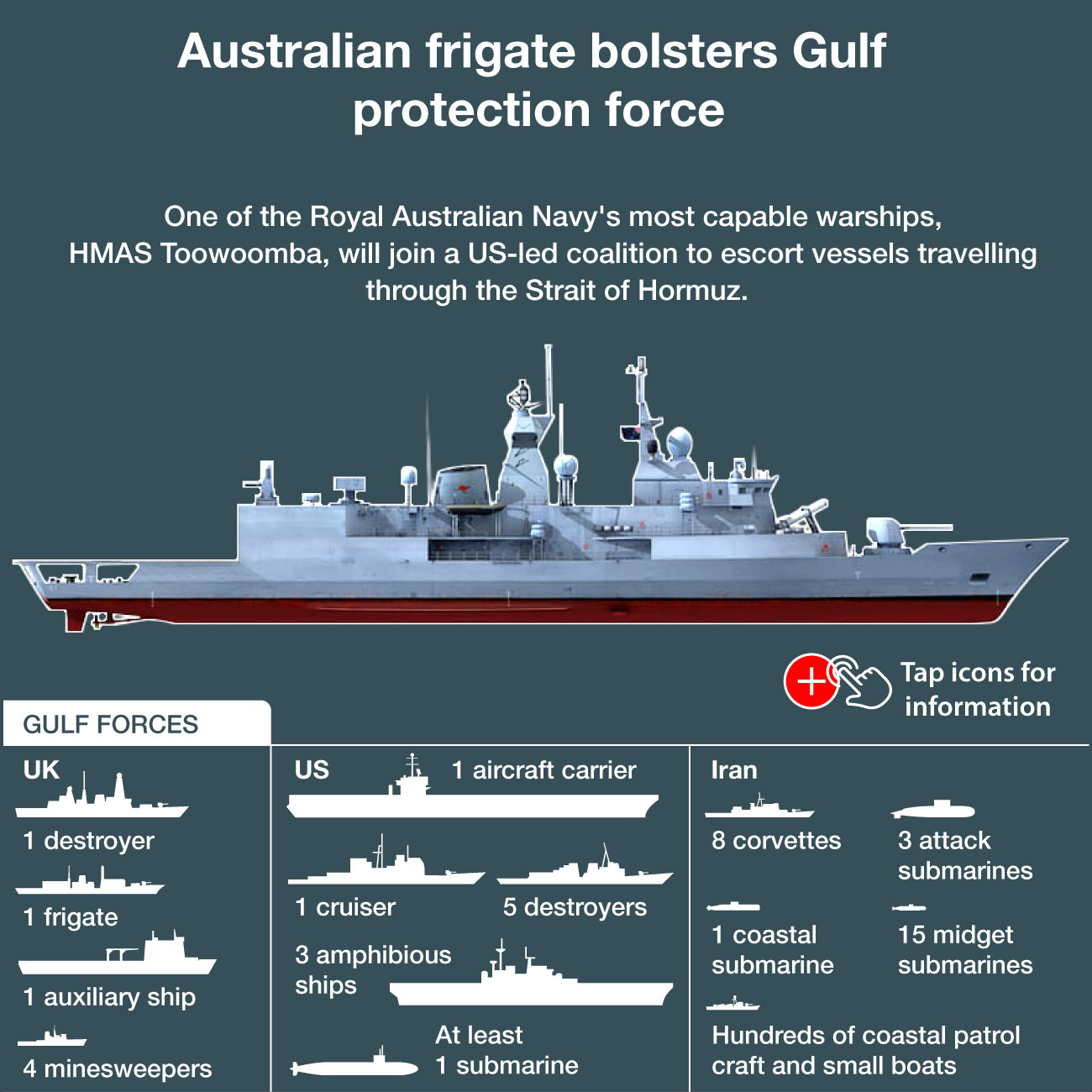 NED-190-Dire Straits Australia sends warships to Straits of Hormuz - 0