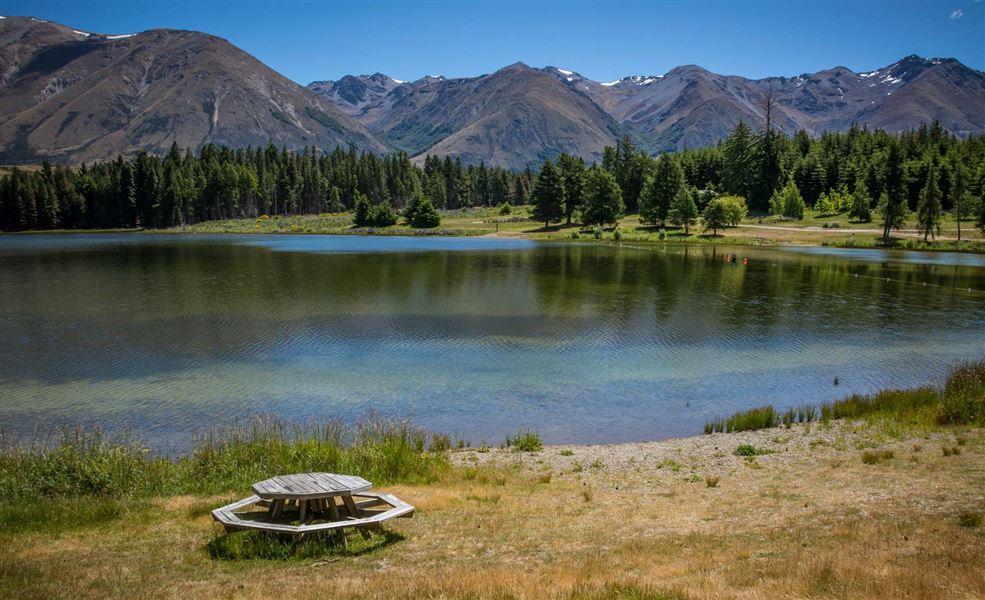 Lake Middleton Campsite
