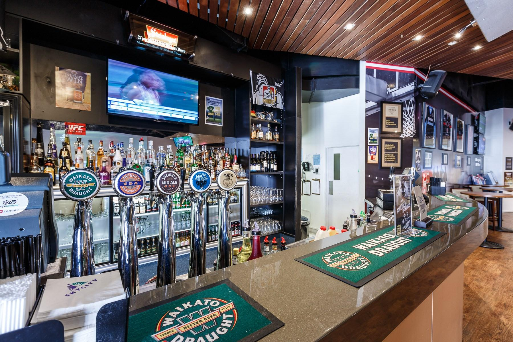 Zone Sports Bar at SKYCITY Hamilton
