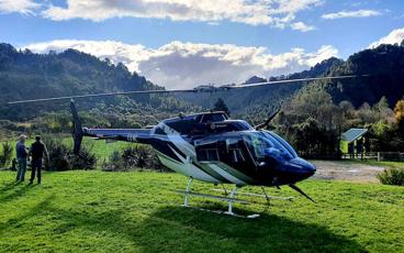 The Blue Duck Private Heli Experience