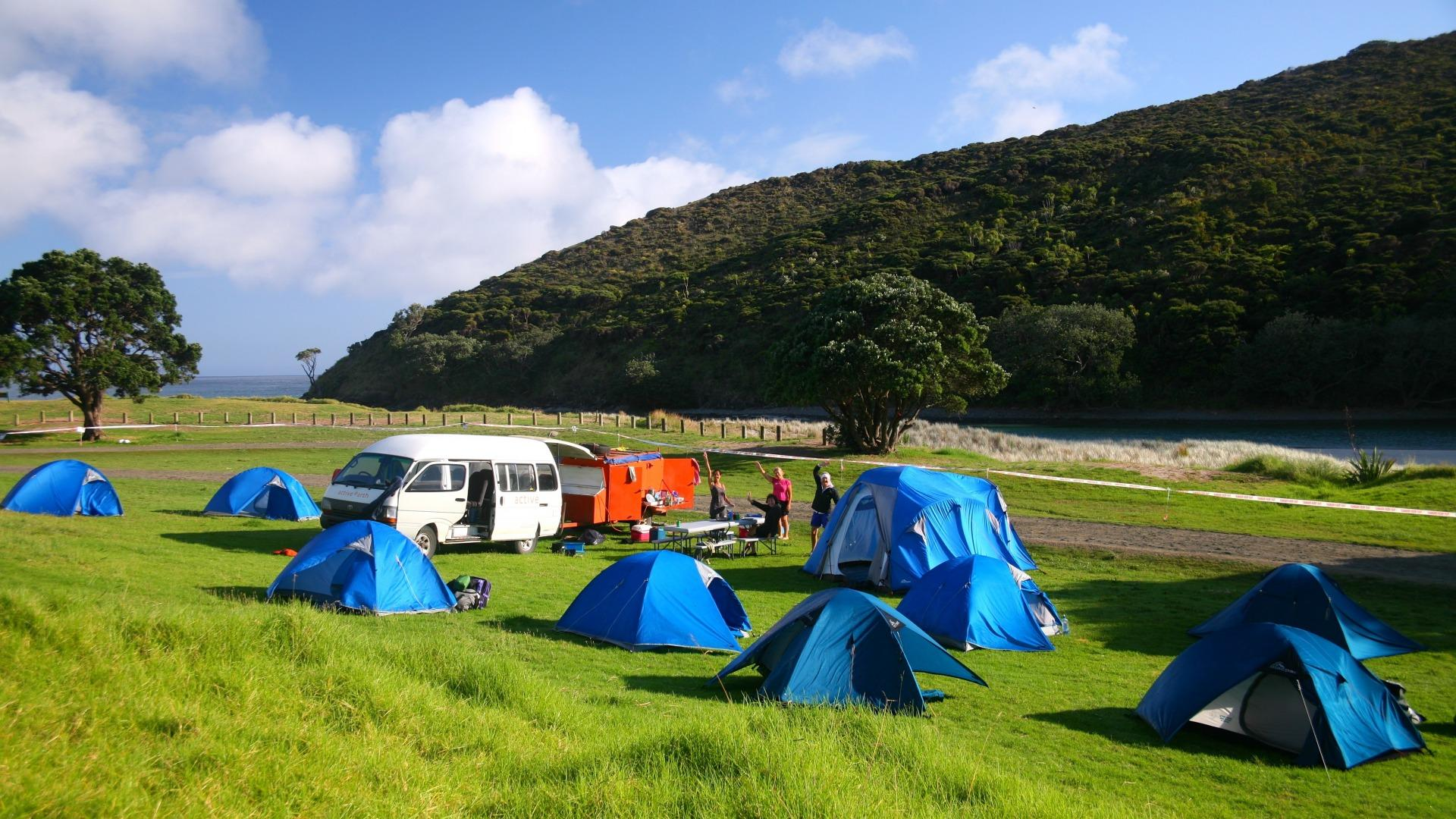 Tapotupotu Camping Area