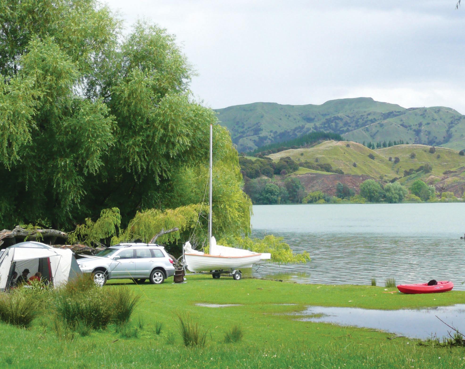 Lake Tutira Camping Area