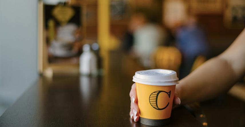 Columbus Coffee at Mitre 10 MEGA Greymouth