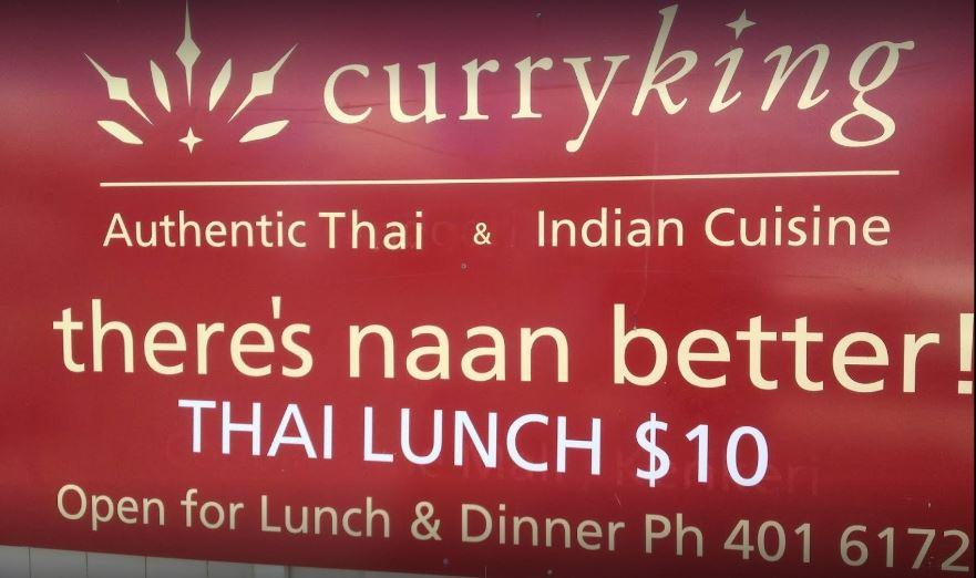 Curry King Thai and Indian Restaurant