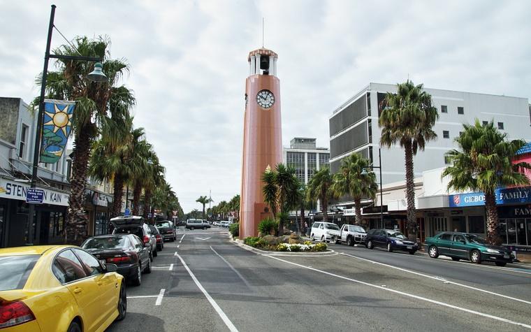 Gisborne Town Clock