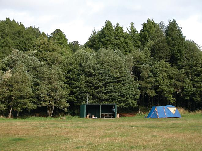 Kaniwhaniwha Campsite