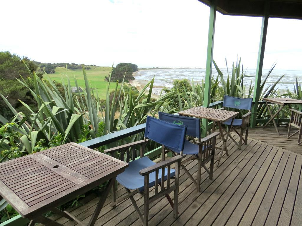 Cafe overlooking Farewell Spit