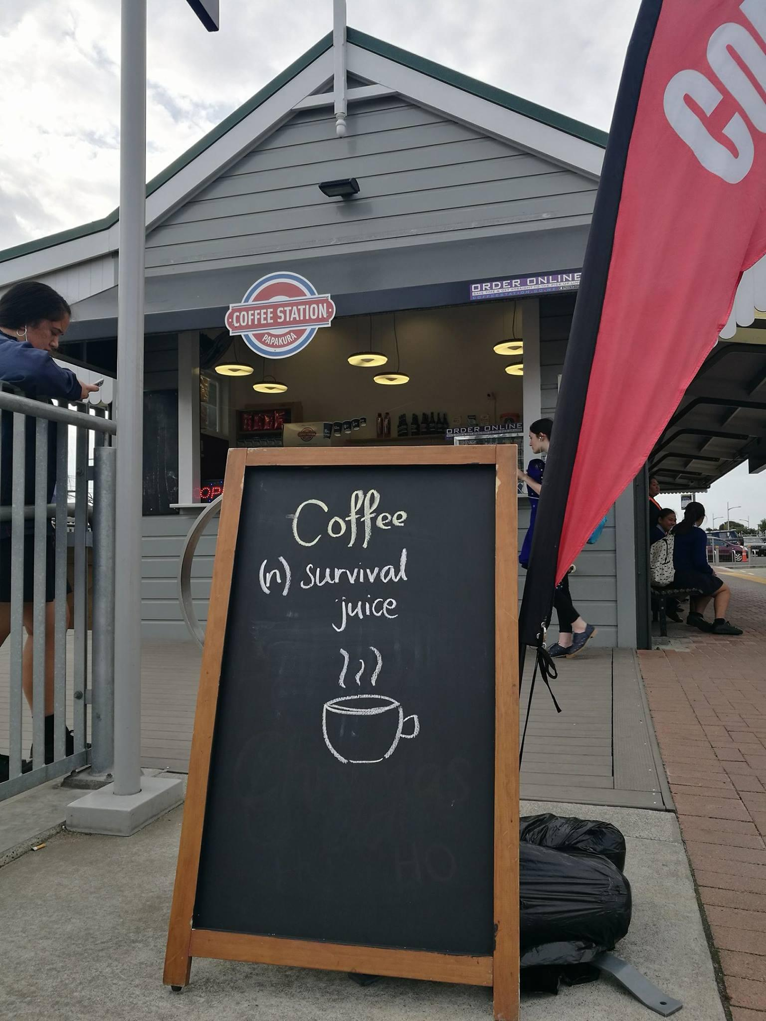 Coffee Station Newmarket