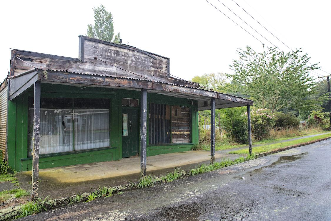 The Ghost Town - Old Tangarakau Township
