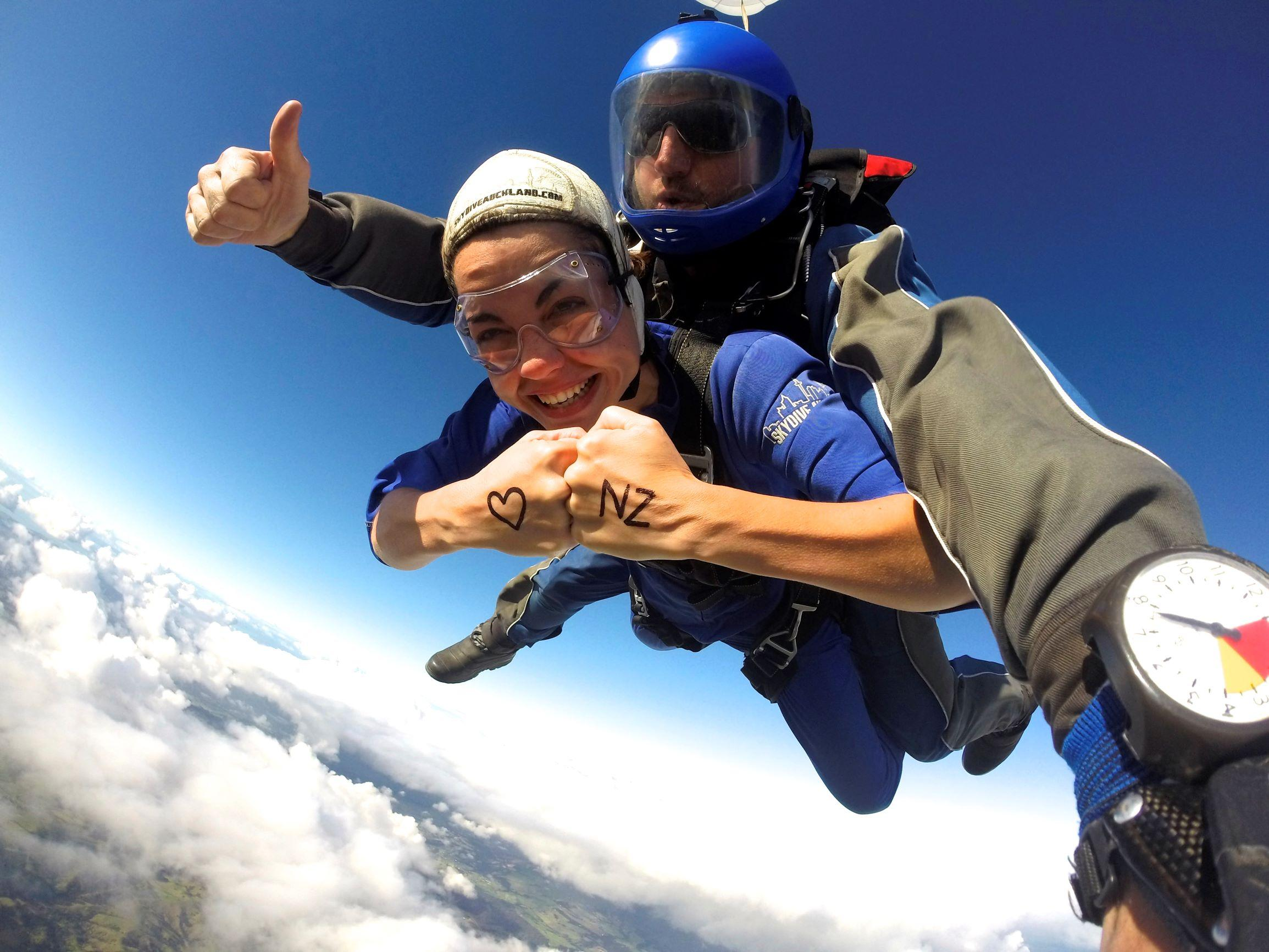 Do It For The Thrills at Skydive Auckland