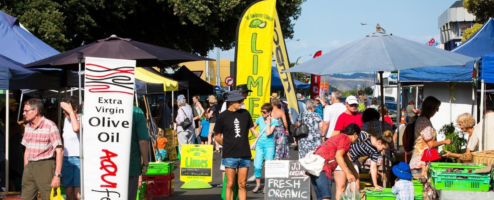 Napier Urban Farmer's Market