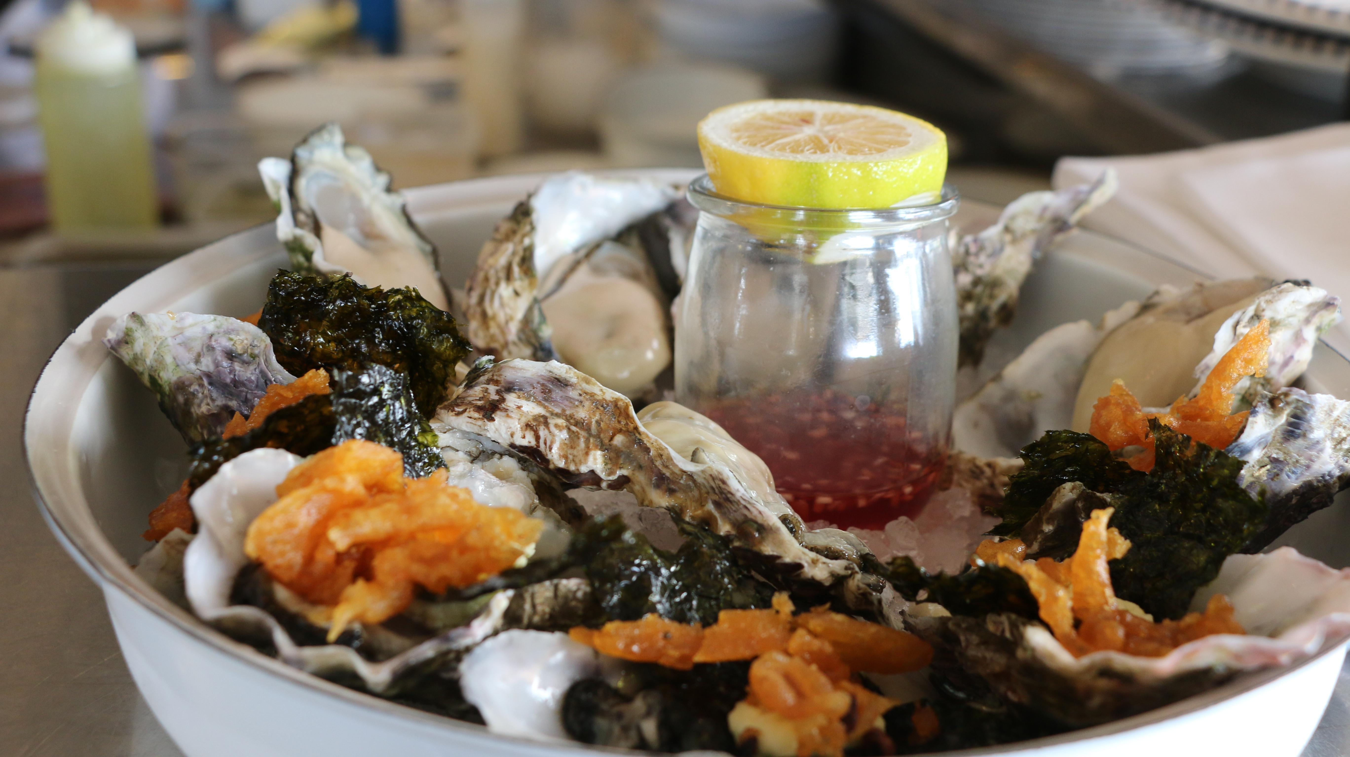 Oyster and Chop