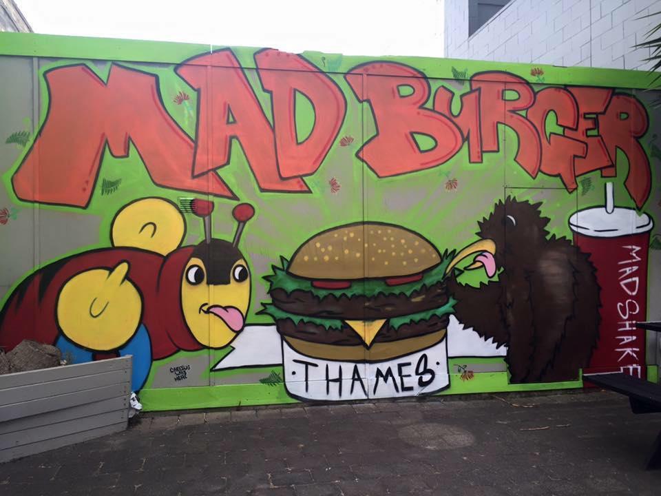 Mad Burger Thames