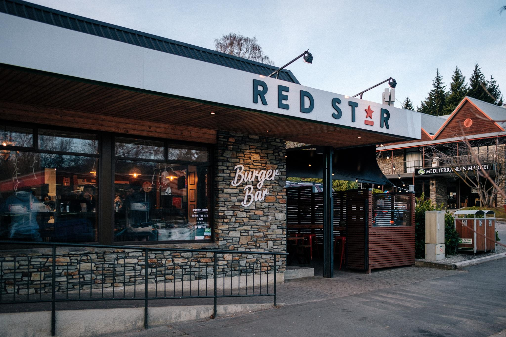 Red Star Burger Bar