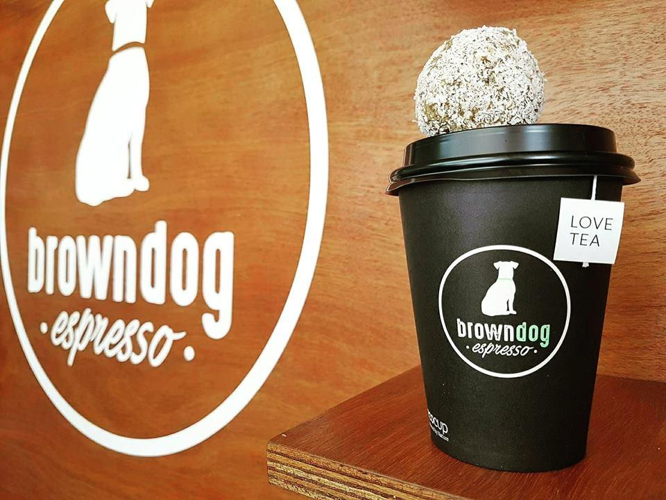 Brown dog espresso
