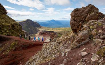 Mt Tarawera Crater Walk