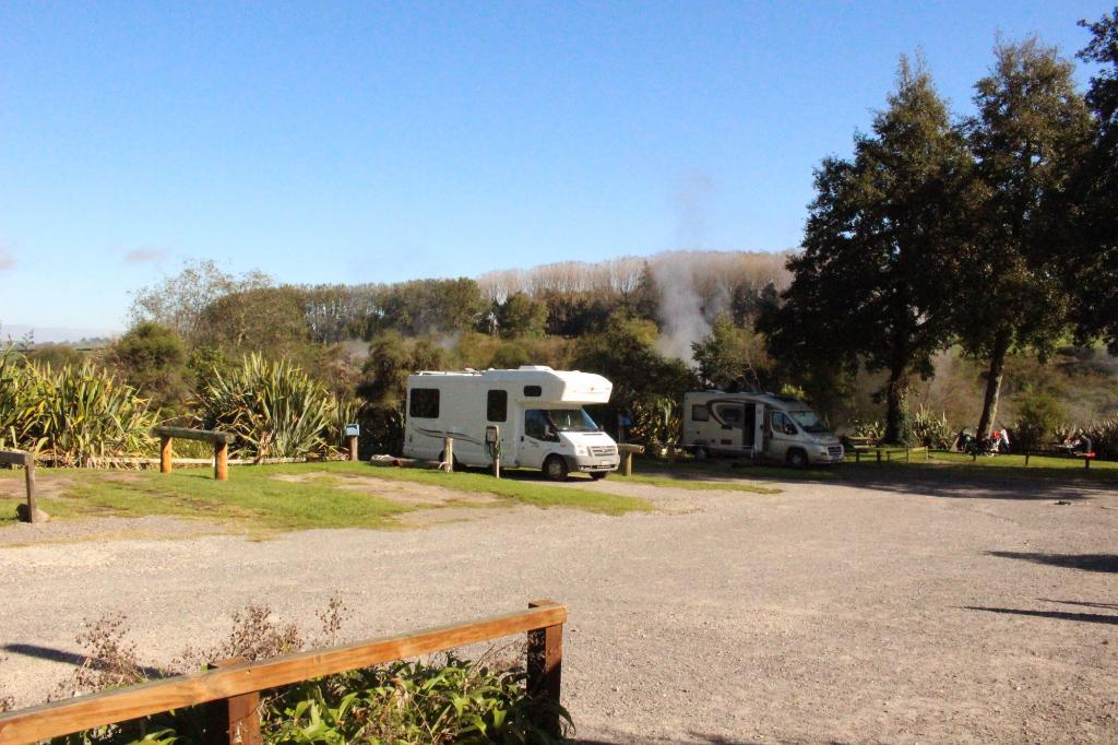 Waikite Valley Hot Pools Campground