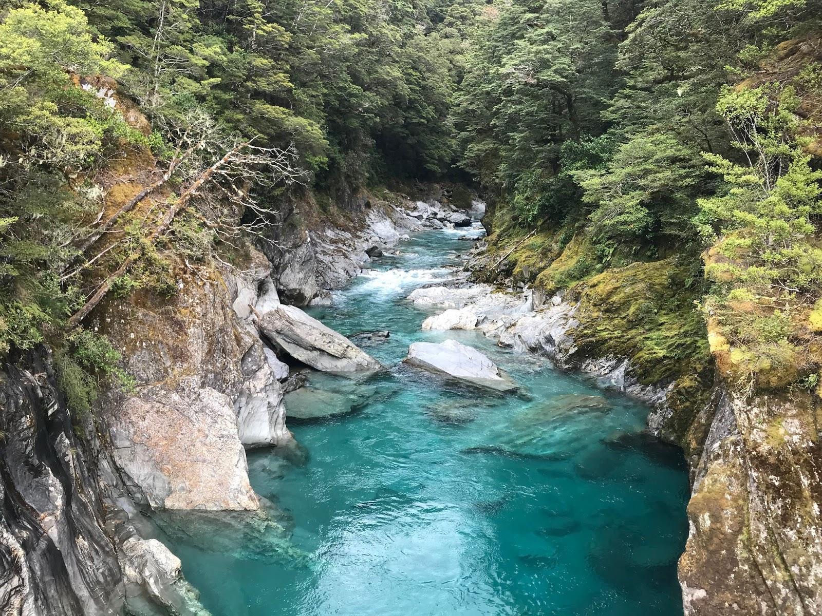 Resultado de imagen de blue pools walk haast pass