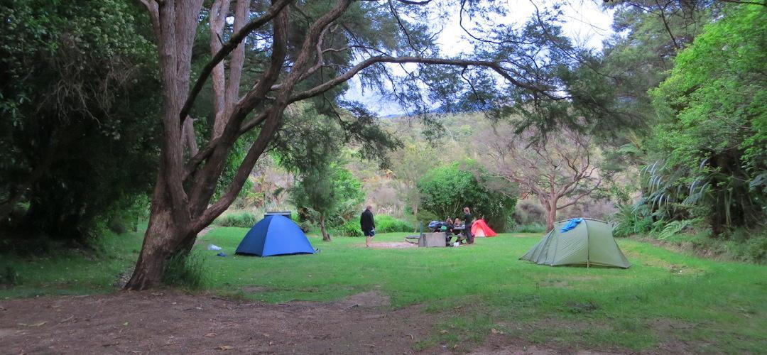 Waiharakeke Bay Campsite