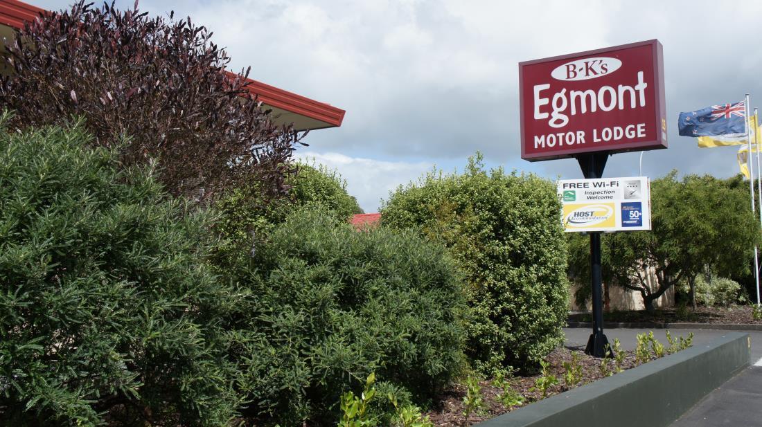 BK's Egmont Motor Lodge