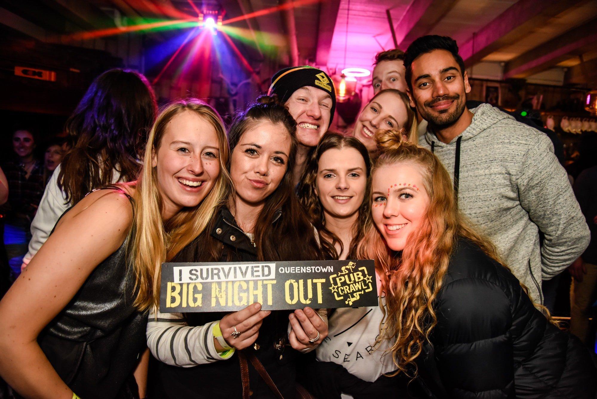 Kiwi Crawl: Bar Crawl - Queenstown