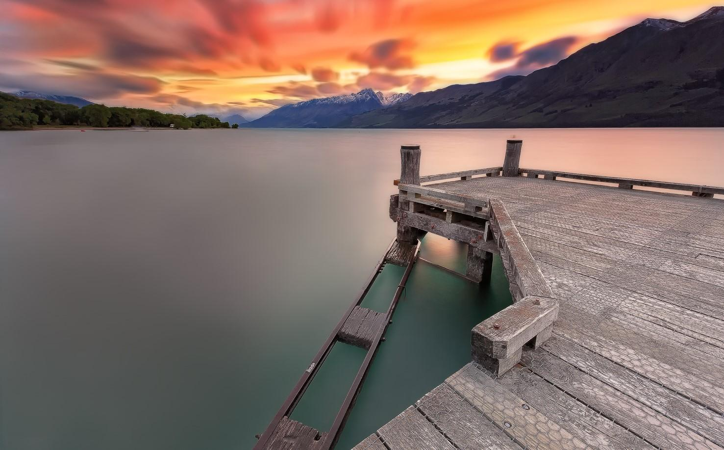 Old Glenorchy Wharf