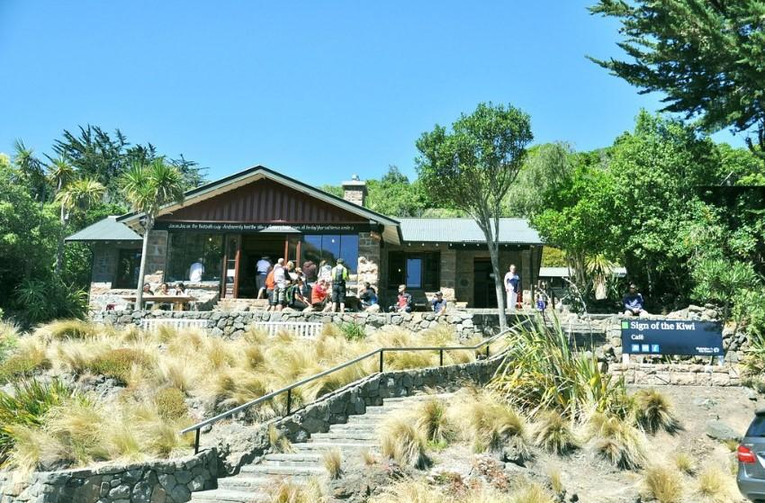 Sign of the Kiwi Cafe