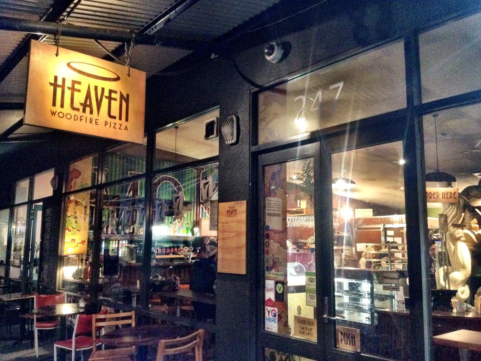 Heaven Woodfire Pizza