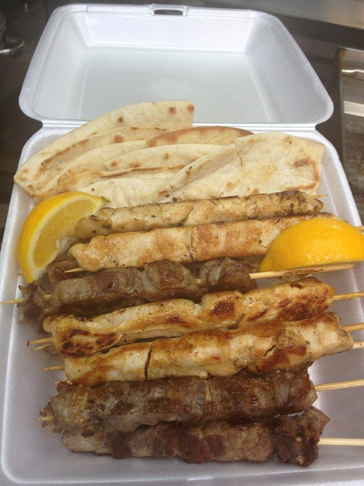 Souvlaki At Acropolis