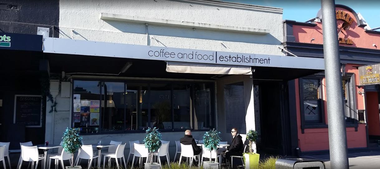 Coffee and Food Establishment