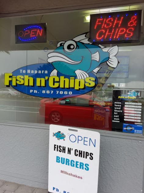Te Hapara Fish Shop