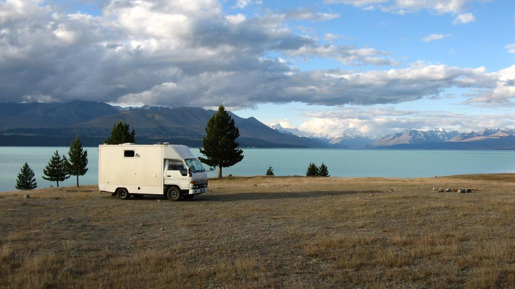 Lake Pukaki Overnight Campervan Parking