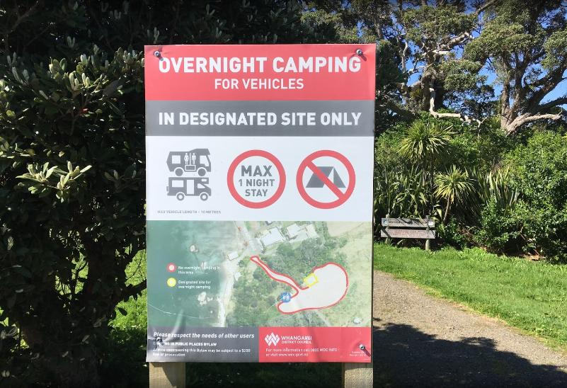 Reotahi - Overnight Campervan Parking