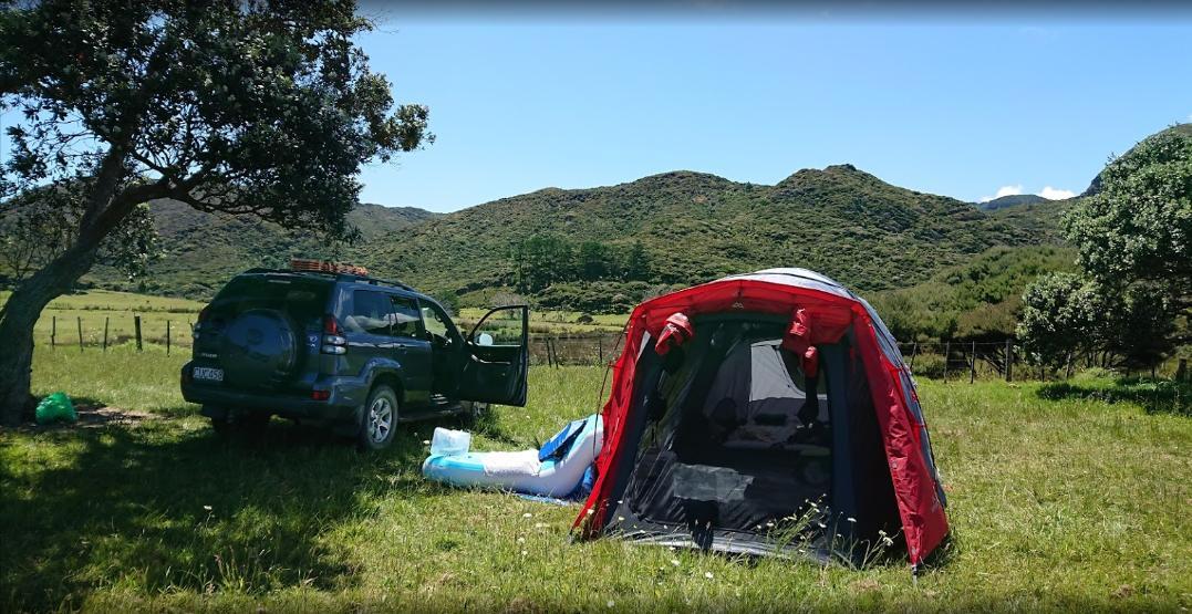 Kapowairua (Spirits Bay) Campsite