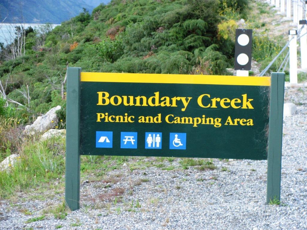 Boundary Creek Campsite