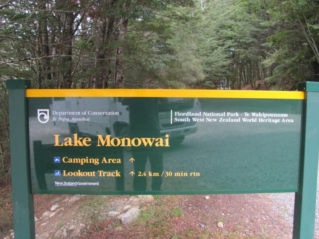 Monowai Campsite