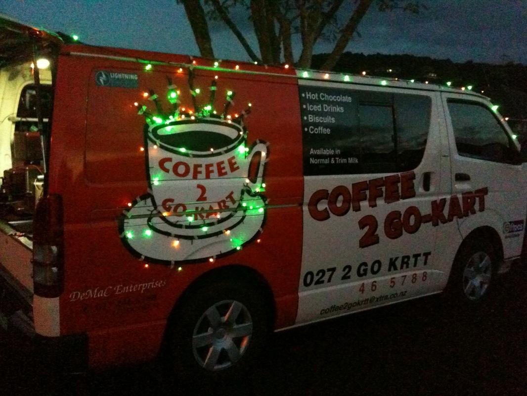 Coffee 2 Go Kart