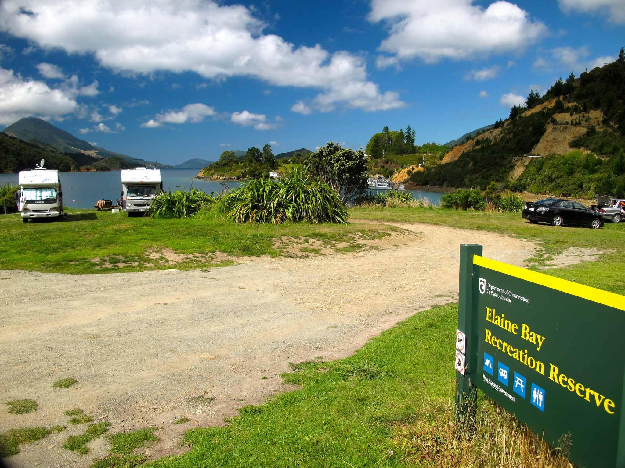 Elaine Bay Camping Area