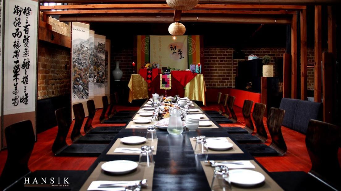 HANSIK Restaurant & Bar