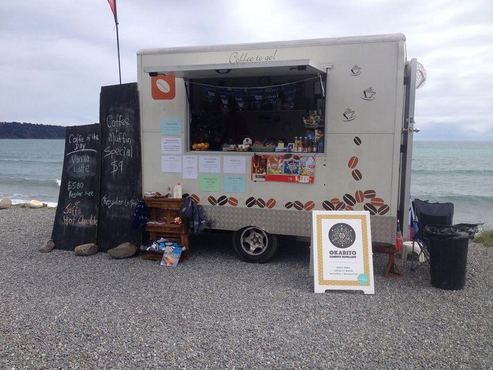 Bruce Bay Coffee Cart