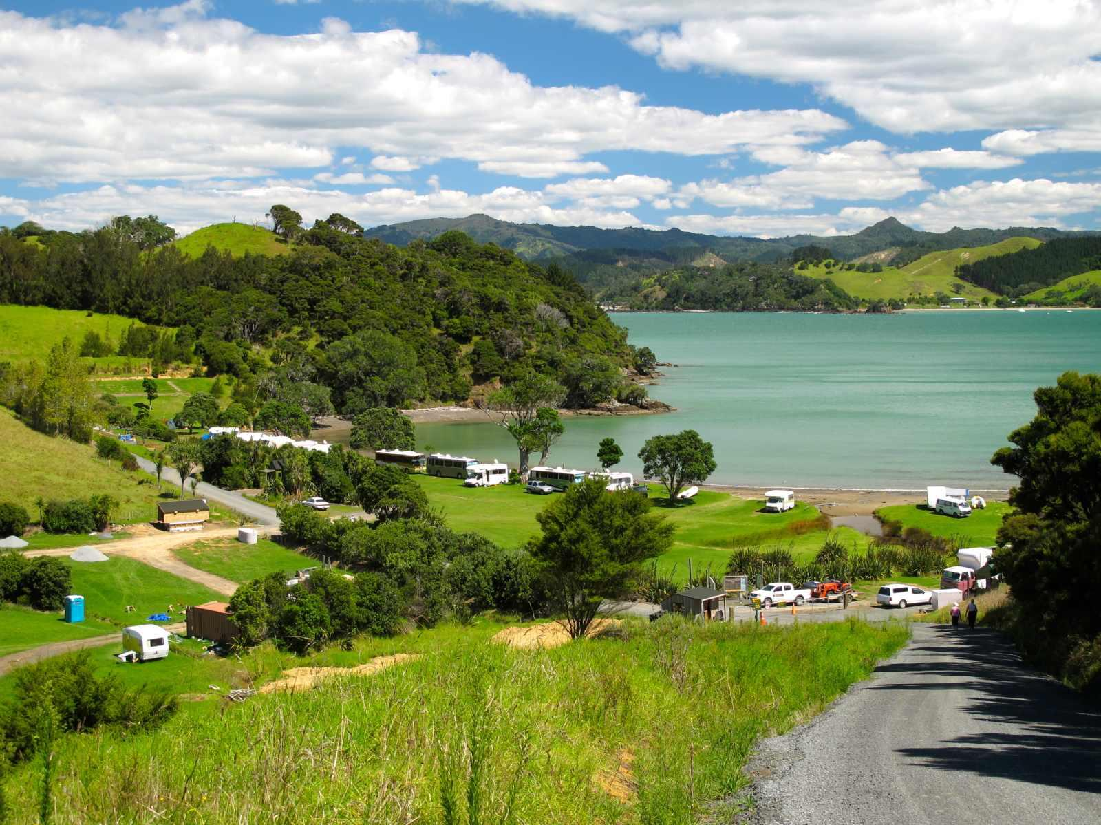 Puriri Bay (Whangaruru North Head) Campsite
