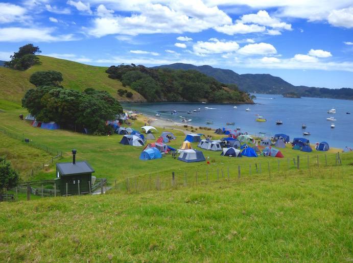 Urupukapuka Bay Campsite